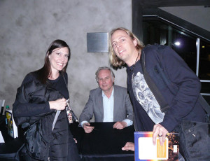 Tally Cass, Richard Dawkins, Steve Cass at Magic Of Reality Book Tour in Phoenix, AZ