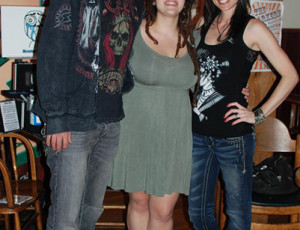 Steve Cass, Shelley Segal, Tally Cass at An Atheist Album Tour in Portland, OR