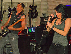 SDNA Concert and Party at the Monster On Sunday Band Studio in Poway, CA.  Photo by Daniel Ogas.