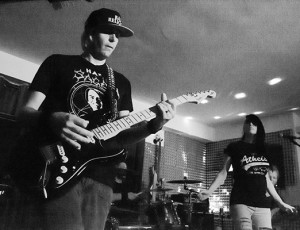 Album Release Dress Rehearsal at the Monster On Sunday Band Studio in Poway, CA.  Photo by Craig Chaddock.