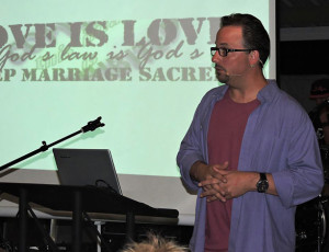 Godless Gala Performance at See Scan in San Diego, CA.  Photo by Traci Smith