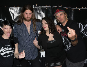 Tally Cass, Andrew Robertson, Shelly Segal, Steve Cass at the Album Release Show in Ramona, CA.  Photo by Craig Chaddock.