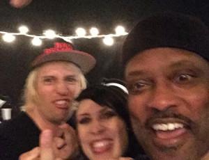 Steve Cass, Tally Cass, Steve Hill at the Album Release Show in Ramona, CA.